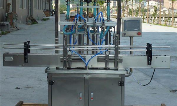 Machine de remplissage automatique de pâte d'arachide