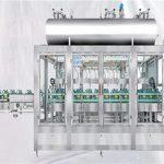Machine de remplissage rotatoire de pesage pour l'huile de lubrifiants