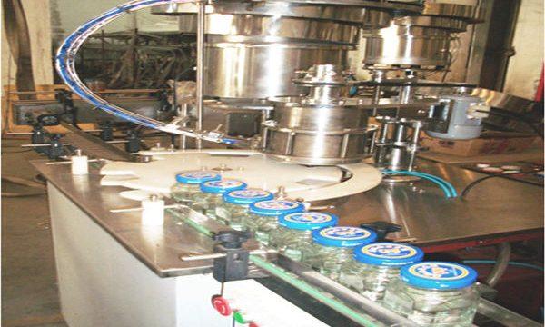 Ligne remplissante de miel 50-500ml, machine d'embouteillage de miel, machine de conditionnement de pot de miel
