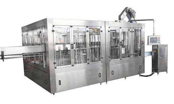 8000BPH Ligne de remplisseuse automatique d'huile de coco