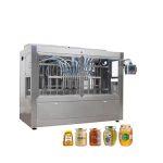 Machine de capsulage remplissante de miel de pot en verre automatique