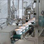 Machine remplissante de cachetage de tasse de crème glacée automatique