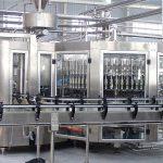 Équipement automatique de capsuleur de machine de remplissage de bouteilles en verre de shampooing 250ml