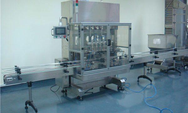 Machine de remplissage liquide de gravité de temps de vinaigre automatique
