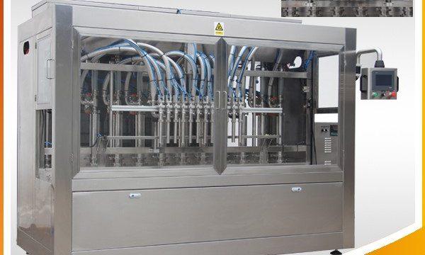 Machine de remplissage de bouteilles de mise en bouteilles liquide de parfum cosmétique automatique