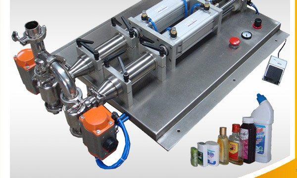 Machine de remplissage de liquide corrosif anti-mousse semi-automatique