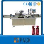 Prix de la machine de remplissage de liquide sous vide semi-automatique