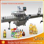 Machine de remplissage d'huile de lubrification 1L-4L