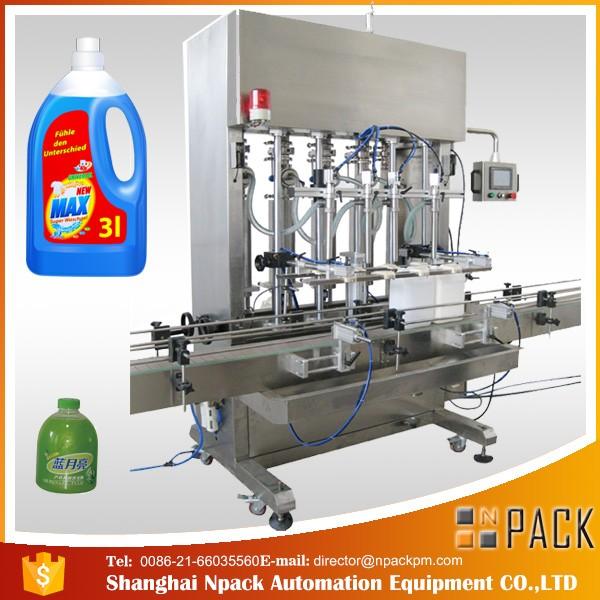 Machine de remplissage liquide à double tête entièrement automatique