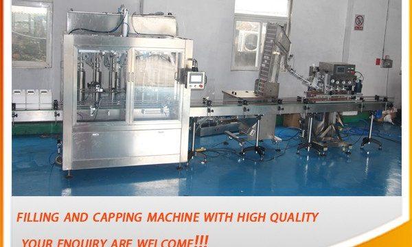Machine de remplissage d'huile complètement automatique à haute efficacité de 5 litres