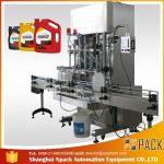 Machine de remplissage 500ml-2L de détergent liquide automatique / machine de remplissage liquide de lavage