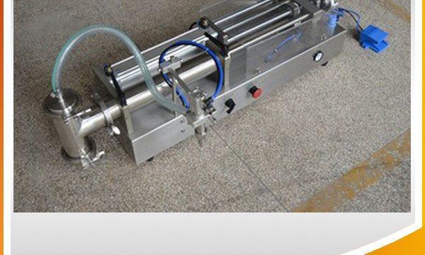 Machine de remplissage d'huile idéale pour machine de remplissage de piston semi-automatique
