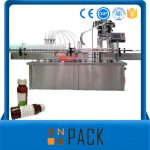 Machine de remplissage liquide rotatoire automatique de bouteille avec le capsulage