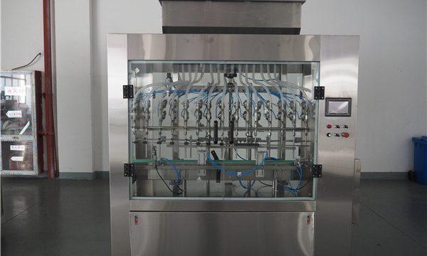 Machine de remplissage liquide à pression atmosphérique automatique de 12 têtes