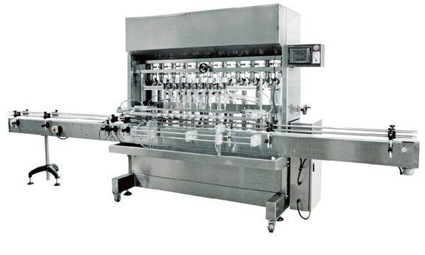 Machine de remplissage liquide automatique de gravité de 12 têtes pour la sauce de soja