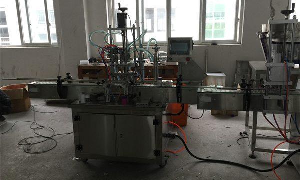 Machine de remplissage liquide à piston automatique 50ml à 1L