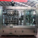 Machine de remplissage liquide automatique d'acier inoxydable pour l'huile / eau épurée