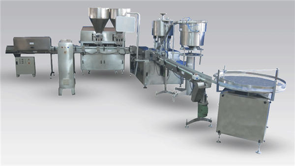 Machine de remplissage de bouteilles de bière liquide automatique pour le capsulage et l'étiquetage de chaîne de production