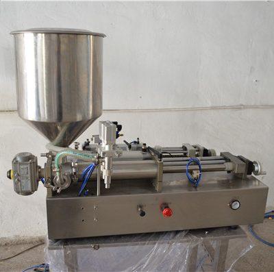 Cosmétique manuelle semi automatique de machine de remplissage d'huile