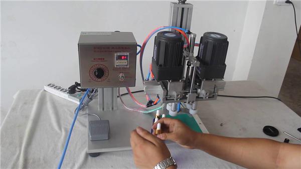 Machine de capsulage pneumatique complètement automatique Fabricant