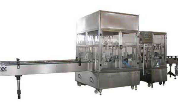 Ligne complètement automatique de machine de remplissage de savon liquide