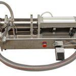 Machine de remplissage semi automatique de miel de haute viscosité Lliquid