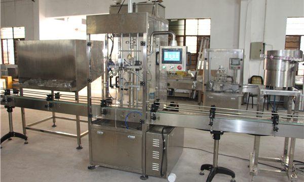 Machine de remplissage automatique à haut volume de shampooing pour bouteilles