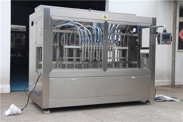 Machine de remplissage d'huile complètement automatique à grande vitesse