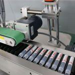 Machine à étiqueter automatique horizontale de fiole d'injection