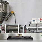 Machine de remplissage mélangeuse semi-automatique de confiture de fruits de haute précision avec du CE GMP