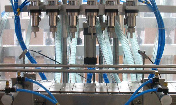 Machine de remplissage liquide automatique à six têtes