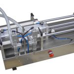 Machine de remplissage liquide à piston manuel