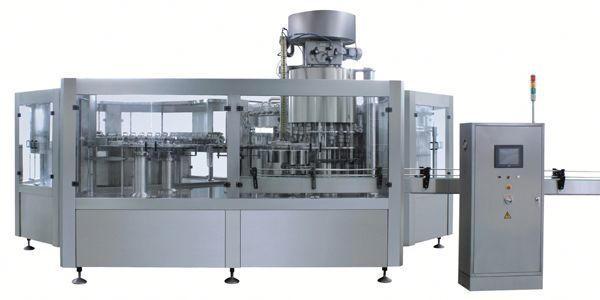 Machine de remplissage liquide de blanchiment pneumatique