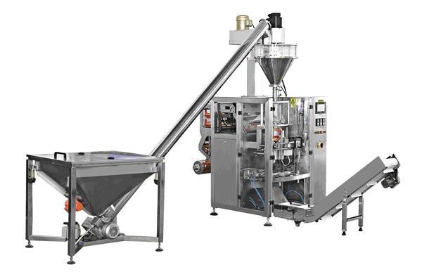 Type de bouteille automatique machine de remplissage de poudre d'alimentation en spirale
