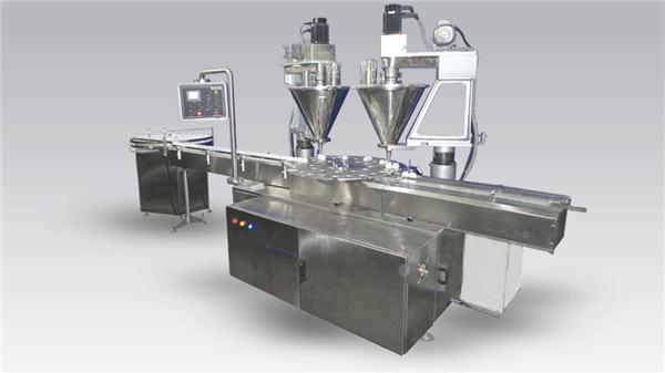 Poudre pour machine à café à remplissage automatique à 6 têtes