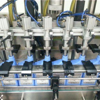 Machine de remplissage d'huile à moteur automatique à 6 têtes