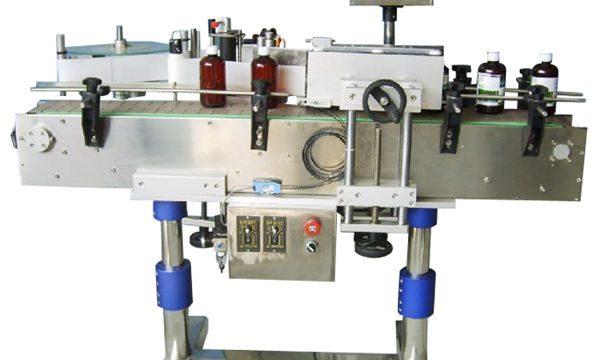 Machine à étiquettes automatique de bouteille ronde d'autocollant pour des canettes