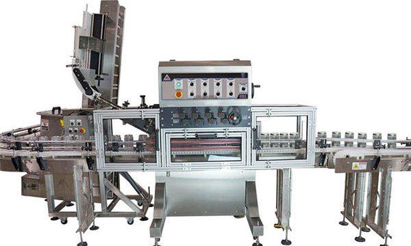 Machine de remplissage de sauce chaude automatique à pompe pneumatique
