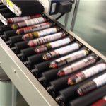 Etiqueteuse automatique de saucisses avec chargeur