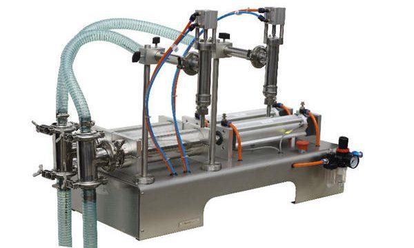 Machine de remplissage de savon liquide en sachet semi-automatique