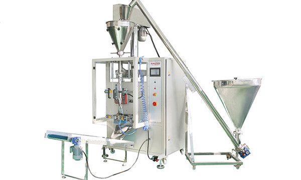 Machine de remplissage et de scellement automatique verticale de poudre