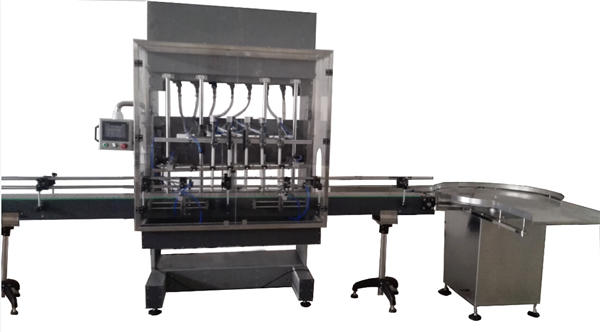 Machine de remplissage automatique d'eau de Javel en bouteille