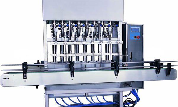 Machine de remplissage de détergent à lessive automatique