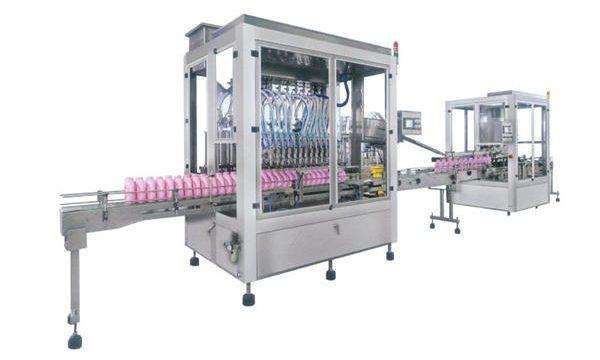 Machine de remplissage de détergent automatique en acier inoxydable