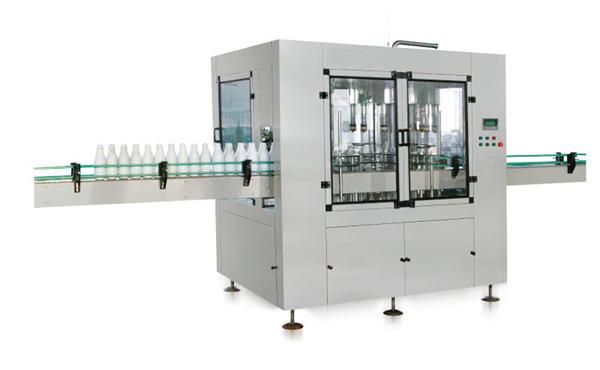 Machine de remplissage de savon liquide à piston linéaire automatique à huit têtes
