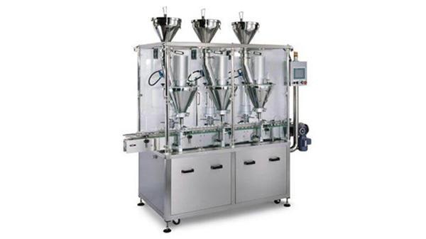 Machine de remplissage en poudre automatique de sirop d'escompte