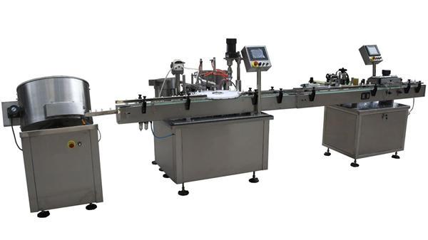 Ligne remplissante de machine de remplissage de cigarette électronique d'E-liquide