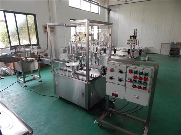 machine de remplissage liquide antidéflagrante
