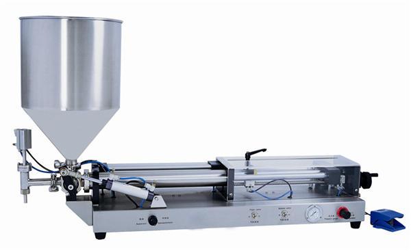 Machine de remplissage de pâte semi-automatique pour 3mL-5L