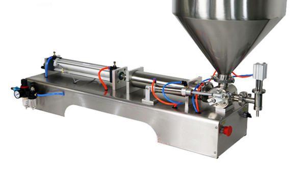 Petit volume de machine de remplissage de pâte de soja 3-25ML